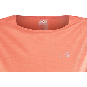 Millet LD Cloud Peak Wool TS T-shirt Femme, hot coral